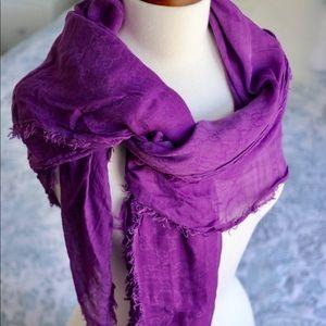 Gucci purple/lavender color scarf/wrap